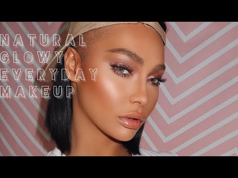 NATURAL GLOWY EVERYDAY MAKEUP | SONJDRADELUXE