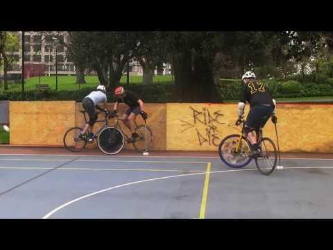 Bike Polo 2016 Melbourne Spring tournament