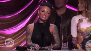 2014 XBIZ Awards - Christy Mack Wins 'Best New Starlet' Award
