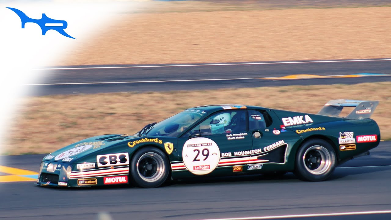 1979 Ferrari 512 Bblm Rough Boxer 12 Sound At Le Mans