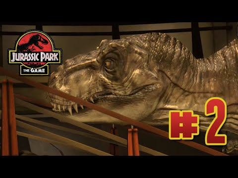 T.rex & Rollercoasters! : Jurassic Park The Game | Ep2