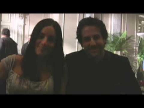 Warehouse 13  BtS with Erica Cerra & Niall Matter from Eureka