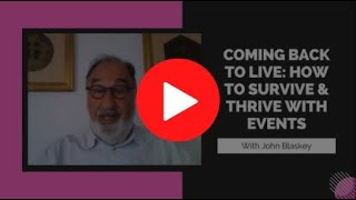 Back to Live Masterclass - Who is John Blaskey