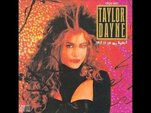 Taylor Dayne- Don't Rush Me