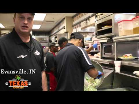 Texas Roadhouse 2015 KM of the Year Finalist, Evansville IN