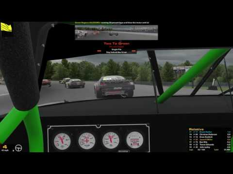 iRacing SARA Button Box Shop Series Hides Pride 150@ Oxford Plains