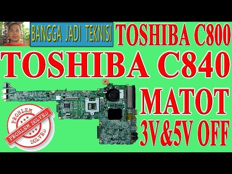 Memperbaiki Laptop Toshiba C840 Mati Total Repair Laptop Daby3cmb8e0 Dead