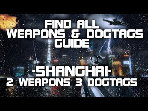 Battlefield 4 - Alle DogTags & Waffen - Mission 2: Shanghai (PS3|PS4|XBox|XBoxOne|PC)