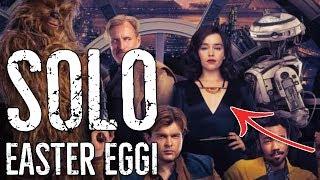 EASTER EGGI z filmu SOLO