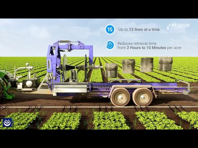 Streamline® X · La solución para el riego de un sólo uso en cultivos de ciclo corto (ENG)