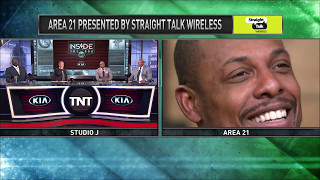 Inside the NBA: Will the Area 21 Crew Mend Fences With Ray Allen?   NBA on TNT