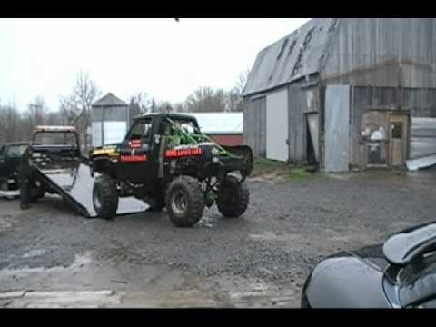 TheOutlawVideoSS 4x4 MUD Truck is SOLD Video of it going to Eric