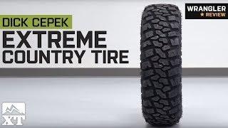 """Jeep Wrangler Cepek Extreme Country Tire - 30-35"""" (1987-2018 YJ, TJ, JK & JL) Review"""
