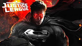 Justice League Superman Black Costume Teaser Breakdown