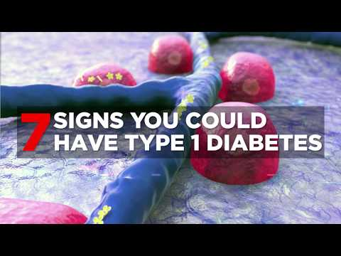 7 Signs You Could Have Type 1 Diabetes   Health