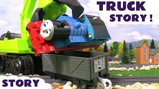 thomas friends toy trains truck prank with play doh diggin rigs rescue fun toys episode tt4u