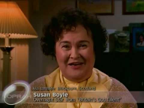 Susan Boyle talks to Oprah Winfrey