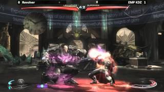 Injustice @ Paradise Lost - Revolver (Lex Luthor) vs EMP KDZ (Superman) [720p/60fps]