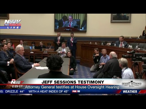 LIVE: Attorney General Jeff Sessions testifies at Oversight Hearing