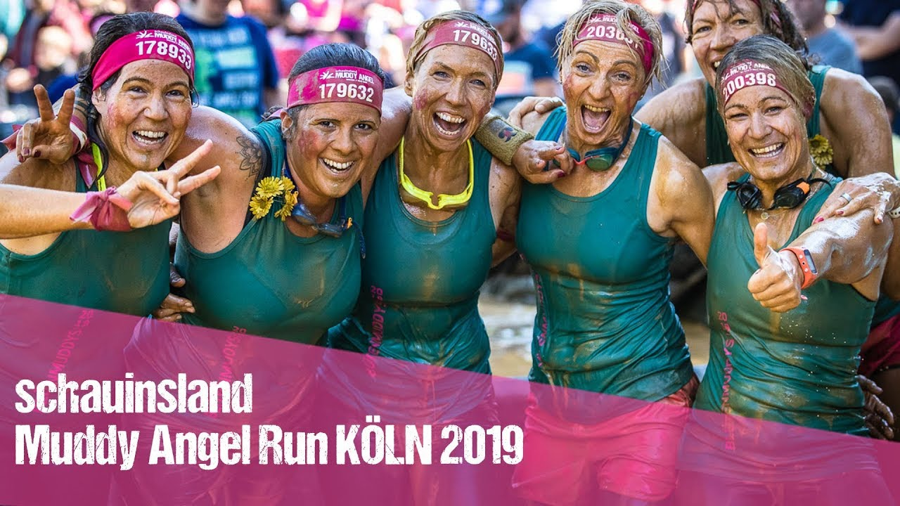 Schauinsland Muddy Angel Run Koln 2019 Youtube