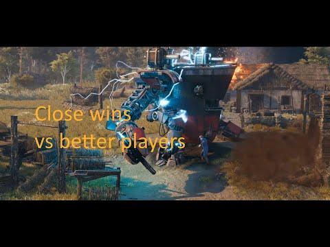 Close wins vs better players! Iron Harvest! |