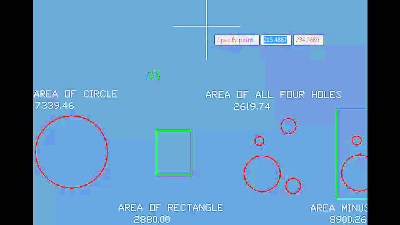 AutoCAD 2011 Tutorial - Displaying the Coordinates of a Point