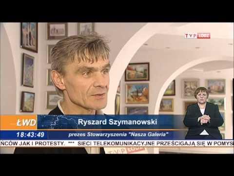 """""""NASZA GALERIA"""" w TVP Łódź, Łódzkich Wiadomościach Dnia"""