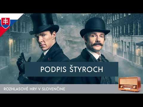 Sir Arthur Conan Doyle - Sherlock Holmes: Podpis štyroch (rozhlasová hra / 1971 / slovensky)