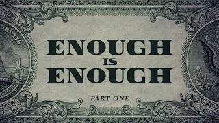 Enough is Enough Part 1 | Ps Andrew van Rensburg