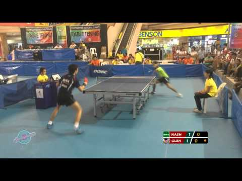 2014 Philippine National Games: Table Tennis