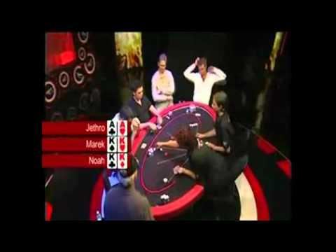 ¡Qué mano de Poker!