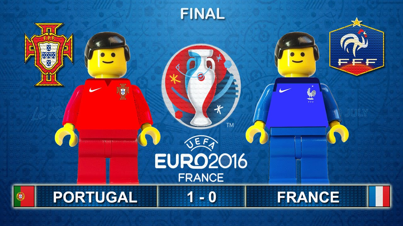 Euro 2016 Final : Portugal vs France 1-0 ( Film in Lego... | Doovi