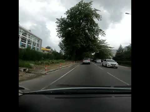 GoPro Hero 6 Dashcam view. Eden Apartments to Anse Royale