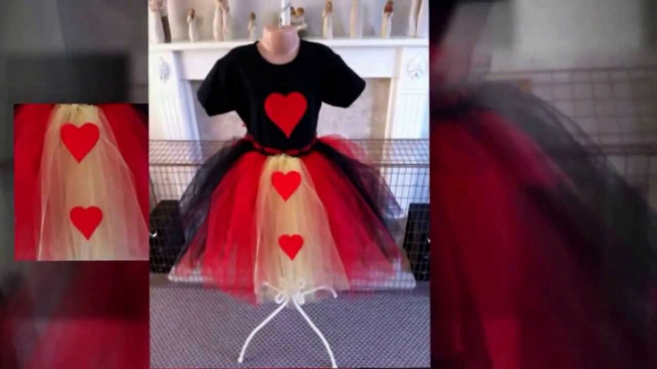 Custom Made Queen Of Hearts Inspired Tutu Outfit. - YouTube