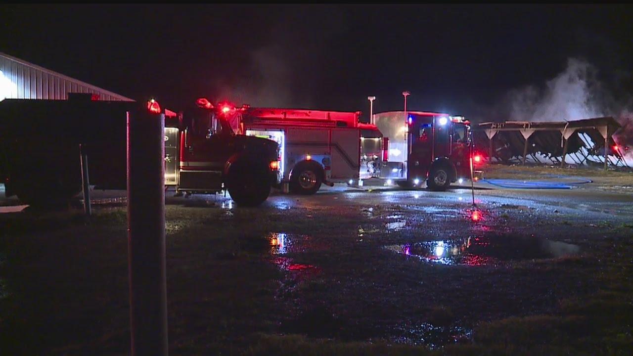 Ohio columbiana county rogers - Fire Destroys Building At Rogers Flea Market In Columbiana County