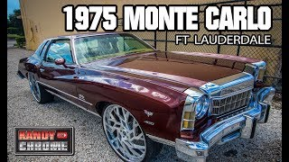 KandyonChrome: 1975 Monte Carlo Rootbeer Kandy Ft. Lauderdale Florida