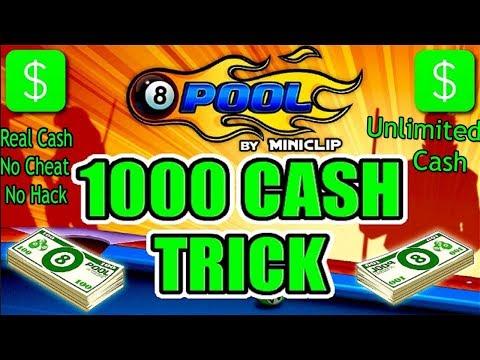 8 Ball Pool Cash Trick ☆1000% Working☆November 2017(Legal Trick)  By Qazi Mubashir GamerPk