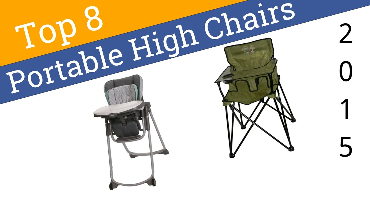 8 Best Portable High Chairs 2015