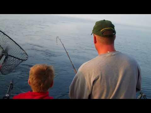 Great Lakes Fishing. Visit Sheboygan WI With Sea Dog Charters On Lake Michigan