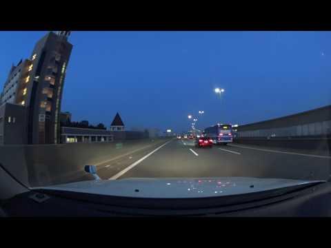 Osaka night drive 4K 阪神高速 湾岸線