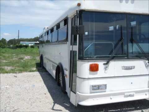 1995 Thomas Transit Bus Handicap Acces-OPEN TO THE PUBLIC AUCTION-10/25/2012