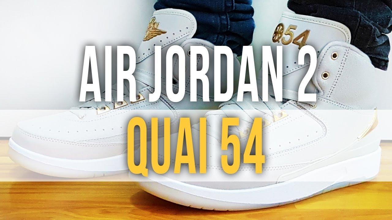 arrives acbf9 0473e AIR JORDAN 2 RETRO QUAI 54 on Feet and Close Up