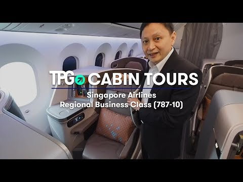 Cabin Tour: NEW Singapore Air 787-10 Regional Business Class