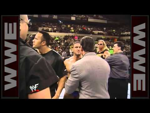 Shawn Michaels Confronts The Corporation With Some Of His Old Friends: Raw, Jan. 4, 1999