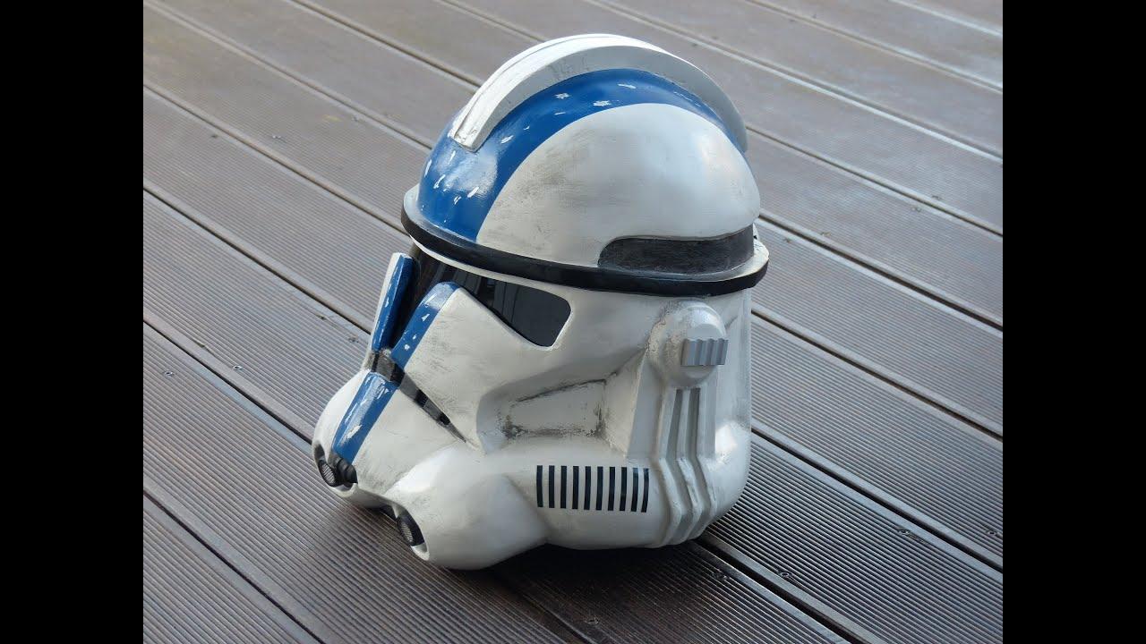 Star Wars Making Clone Trooper Helmet Commander Bly Pepakura