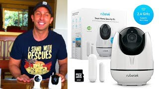 Rubetek WiFi Home HD Security Camera Reviews!  Best for your Buck!