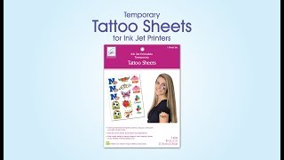 Temporary Tattoo Sheets
