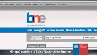 SENCE INFORMA - Bolsa Nacional de Empleo