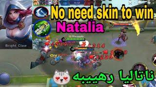 SKIN = NOOB - Best Natalia Mobile Legends Arabic