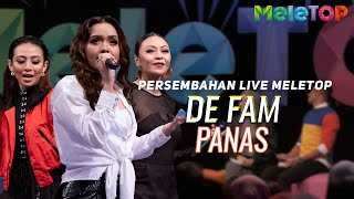 De Fam Panas Persembahan Live Meletop Neelofa Nabil MP3